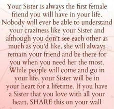My sisters <3