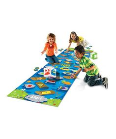 Take a look at this Crocodile Hop Floor Mat Game by Learning Resources on @zulily today!