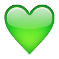 The+Green+Heart+Emoji+on+iEmoji.com