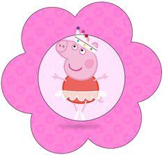 Flor Peppa Pig Bailarina: