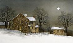"Ray Hendershot ""Snow Cover"""