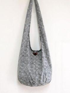 Handmade Cotton Bag Hippie Hobo bag