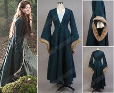 Catelyn Stark costume for Game of Thrones Cosplay