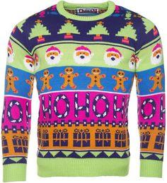 ho ho cheesy christmas jumper