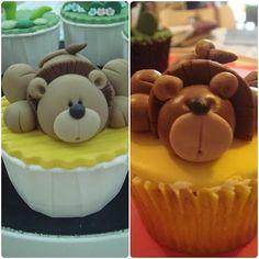 Cute lion cupcakes.