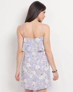 626a2504c5 Catalog Get the Look 2 | The Paper Store. Ruffle  TopRufflesLavenderLavandula Angustifolia. Mia + Tess Designs ™ Exclusive  Floral Ruffle Top Dress ...