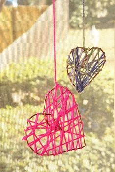 Third Grade Holidays & Seasons Activities: Yarn Heart
