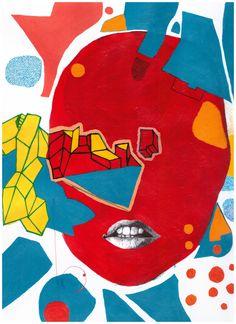Mask | DegreeArt.com The Original Online Art Gallery