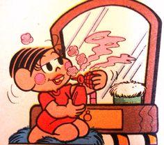 Perfumada!  Ilustração Maurício de Sousa
