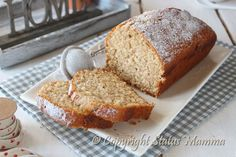 Yogurt whole wheat pound cake - plumcake integrale e yogurt Sweet Recipes, Cake Recipes, Plum Cake, Sweet Cakes, Something Sweet, International Recipes, Cakes And More, Cake Cookies, Yummy Cakes