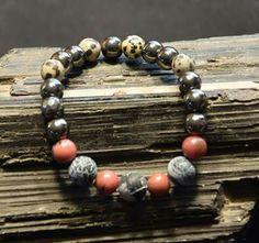 Beaded Bracelets, Men, Jewelry, Jewlery, Jewerly, Pearl Bracelets, Schmuck, Guys, Jewels
