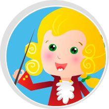 Mozart actividades robóticas para niños
