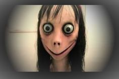 """This week, police and schools have issued warnings to parents about the momo challenge which threatens to """"curse children"""" unless they do not take part in a Parody Videos, Dead Memes, Arte Horror, Cursed Child, Creepypasta, Filmmaking, Halloween Face Makeup, Girl Outfits, Character Design"""