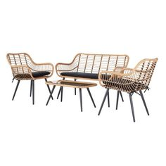 Buy Argos Home 4 Seater Bamboo Sofa Set at Argos. Thousands of products for same day delivery or fast store collection. Pallet Garden Furniture, Bamboo Furniture, Furniture Sets, Outdoor Furniture, Conservatory Furniture Ideas, Argos Garden Furniture, Garden Sofa Set, Garden Dining Set, Garden Chairs