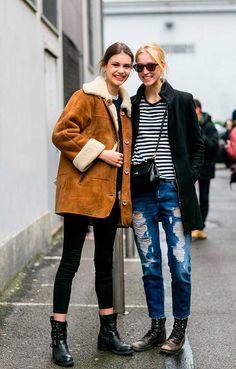 Models Off Duty: MFW A/W 2015 | Fashion, Trends, Beauty Tips & Celebrity Style Magazine | ELLE UK