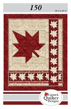 Canuck Quilter: Canada 150 Quilt: It's your turn! Flag Quilt, Patriotic Quilts, Patch Quilt, Quilt Blocks, Quilt Top, Nancy Zieman, Quilting Projects, Quilting Designs, Quilt Design