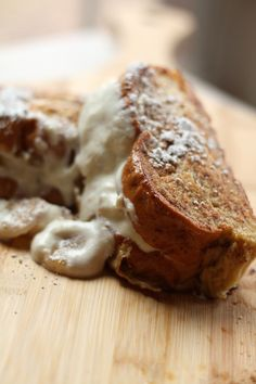 Caramelized Banana & Ricotta Stuffed French Toast