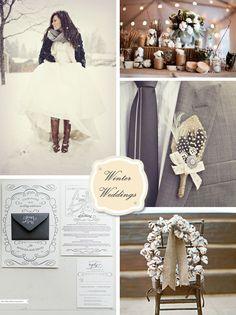 winter weddings so pretty!!