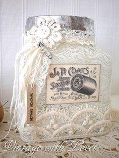 Lace Jar