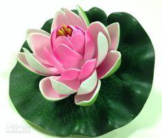 Künstliche Blumen Eva Schaum Wasser Lilien Lotus Simulation Replica Teich