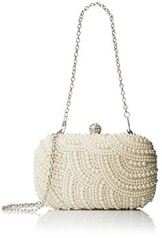 BMC Ivory Faux Pearl Encrusted Metal Frame Hard Case Small Evening Clutch - Pearled All Over Collection b.m.c http://www.amazon.com/dp/B00H7NS9SI/ref=cm_sw_r_pi_dp_c.Kowb0HSQJYH