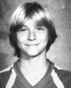 .Young Kurt Cobain.