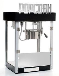 HTD Canada 6 oz Metropolitan Commercial Popcorn Machines are ideal for home theaters. Its unique design enables it to be placed against a wall for a minimal space requirement while still providing an attractive visual impact.Ordinary popcorn machines have Popcorn Cart, Pop Popcorn, Popcorn Maker, Kettle Popcorn, Commercial Popcorn Machine, Popcorn Supplies, Erin Loechner, Storage Compartments, Home Theater