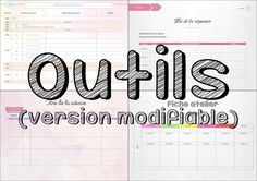 Outils quotidien d'un prof' Bullet Journal Maitresse, Study Organization, Cycle 3, Petite Section, Learn English, Back To School, Notebook, Classroom, Education