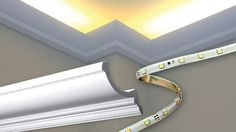 Outwater now offers economically priced 100% recycled Cornice and Crown Mouldings that have been specifically designed for use with indirect lighting. Manufactured to easily accept a variety of cove moulding light fixtures (pictured with Outwater's...