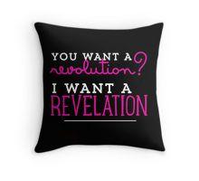 Revelation! Throw Pillow