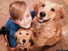 Teneri cuccioli Notizie: A nove anni raccoglie fondi per i cani abbandonati...