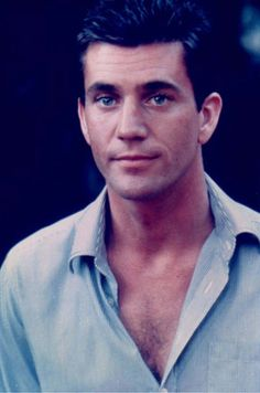 Mel Gibson young. Phew.