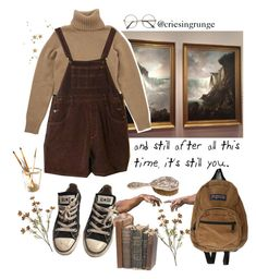 """""""Untitled #991"""" by plumpyprincess ❤ liked on Polyvore featuring JanSport, Converse and ZeroUV"""