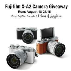 Fujifilm Camera Giveaway