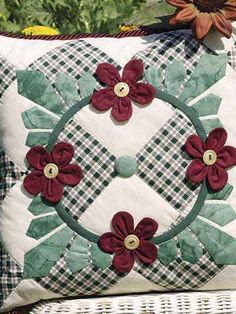 Petals & Leaves Pillow