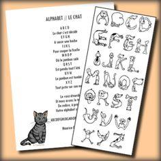 alphabet chiens et chats