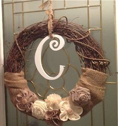 It's a Jungle Out There! A Kindergarten Blog: DIY: Burlap Wreath
