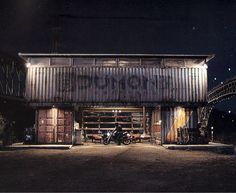 Project: Shipping Container Garage: Builds and Project Cars forum: Grassroots Motorsports