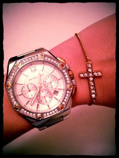 Gold + silver + Michael Kors!
