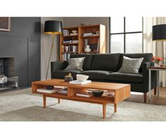 Living - Room & Board: Like the under-table storage