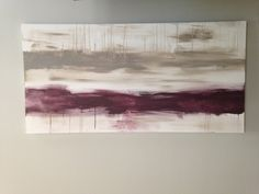 48x24 Huge abstract acrylic entitled Fine Line by CanvasesbyJenn, $125.00