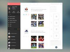 Web App UI from Simeon K.