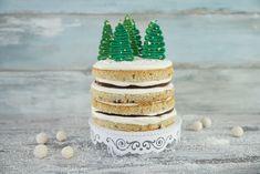 Weihnachtstorte Naked Cake / Christmas Cake / Weihnachtsklassiker mit Tannenbäumen