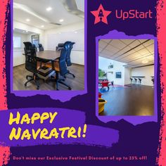 The BEST Coworking Space in Bengaluru - UpStart Coworking Space, is back with Festival Discounts. Call +91 9632917109 #StartUp #StartUpBusiness #Entrepreneur #EntrepreneurLife #Technology #SocialMedia #Navaratri #Navratri #Brand #Marketing #DigitalMarketing #Digital #DigitalNomad #CoworkingDay #CoworkingCommunity #Coworking #CoworkingSpace #CoworkingOffice #CoworkingPlace #India #Bangalore #UpStart #CoworkingBangalore #UpstartCoworkingSpace #UpstartCoworkingSpaceBangalore Happy Navratri, T Art, Coworking Space, Start Up Business, Digital Marketing, Entrepreneur, Social Media, India, Technology