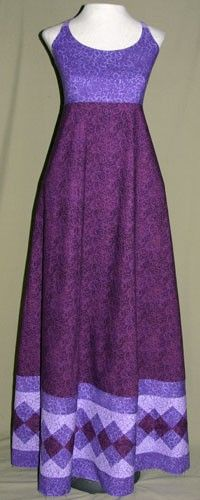 Purple Seminole Patchwork Dress