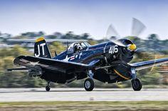 Corsair Landing by Chris Buff, via 500px
