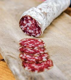 """How to make saucisson sec, a classic French dry-cured sausage, from """"The New Charcuterie Cookbook"""" by Jamie Bissonnette. (How To Make Chicken Sausage) Salami Recipes, Homemade Sausage Recipes, Charcuterie Recipes, Meat Recipes, Cooking Recipes, Sushi Recipes, Meat And Cheese, Smoking Meat, Fermented Foods"""
