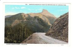 Poudre Canyon Colorado Vintage Postcard by PicturesFromThePast