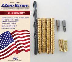 10pk Zzem Screw Compete Installation Kit Easily Repair