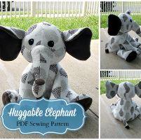 Huggable Elephant Plush